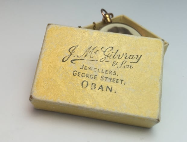 Rose gold mystery locket from Oban