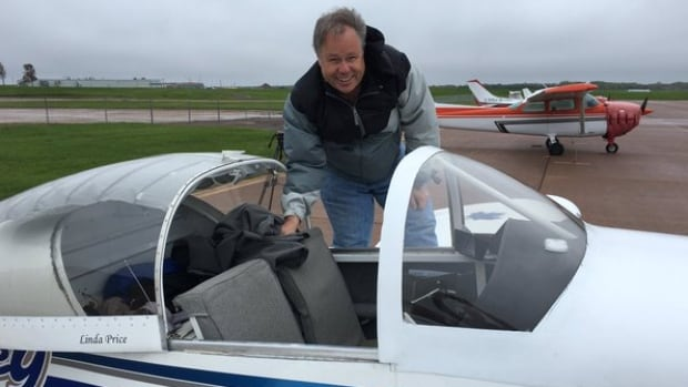 Only instrument-certified pilots on the tour were able to fly to P.E.I. in low cloud, while others were grounded in Quebec.