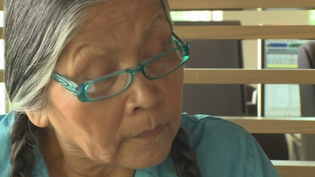 Residential school survivor Mona Stonefish does not believe Premier Kathleen Wynne's apology will bring about any change.