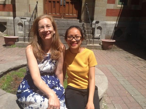 Sonia Semenic and Hieu Nguyen