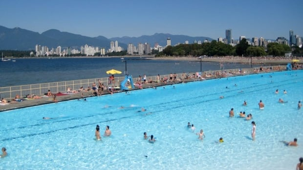 Kitsilano Pool is a popular summertime hangout for many.