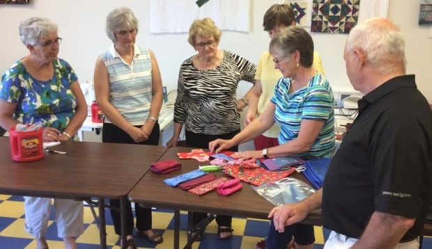 Volunteers in P.E.I. put together period kits for girls in Africa