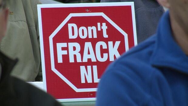 Don't Frack Sign