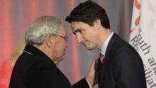 Murray Sinclair Justin Trudeau TRC Final Report 20151215
