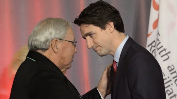 Independent Senator Murray Sinclair was appointed to the Red Chamber by Prime Minister Justin Trudeau in March. Sinclair, the former chair of the Truth and Reconciliation Commission, released the summary report into the history of Canada's residential school system last June.