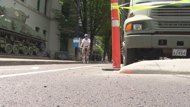 Bike lane beatty street
