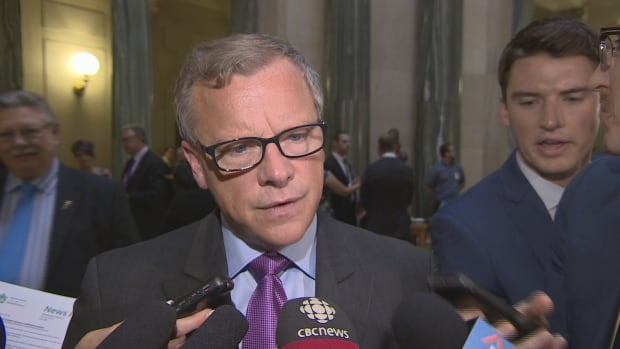 Saskatchewan Premier Brad Wall said Wednesday, on budget day, he does not like running a deficit.