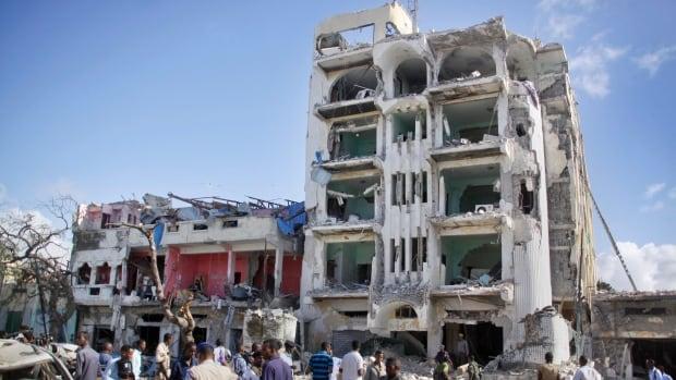 Somali Lawmakers Among 16 Killed In Mogadishu Bomb Gun