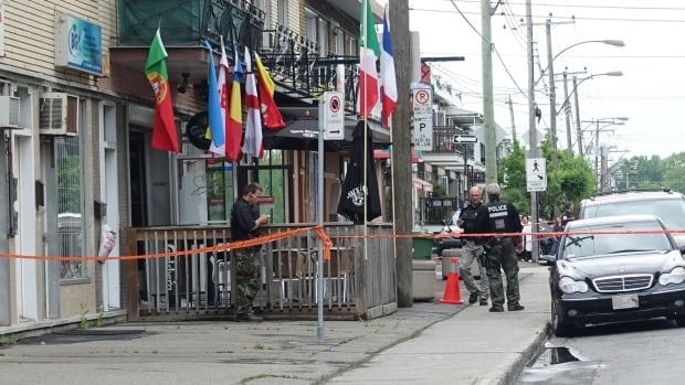 Angelo D'Onofrio, 72, was shot to death in front of the Hillside Café, a.k.a. the Sinatra Café, in Ahuntsic-Cartierville on June 2, 2016.