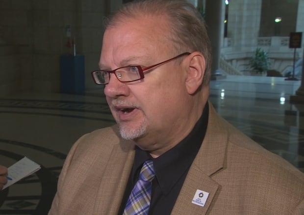 Manitoba's Minister of Health Kelvin Goertzen