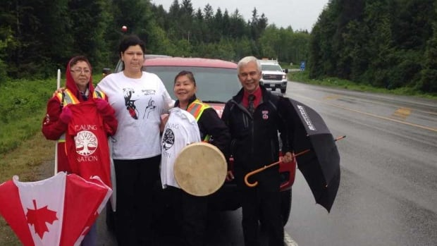 Highway Of Tears Cleansing Walk Begins In Prince Rupert CBC - Highway of tears canada map
