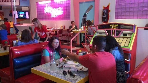 A vacant restaurant space in Chicago's Wicker Park neighborhood has become a replica of The Max, the fictitious hangout from the TV sitcom Saved by the Bell.