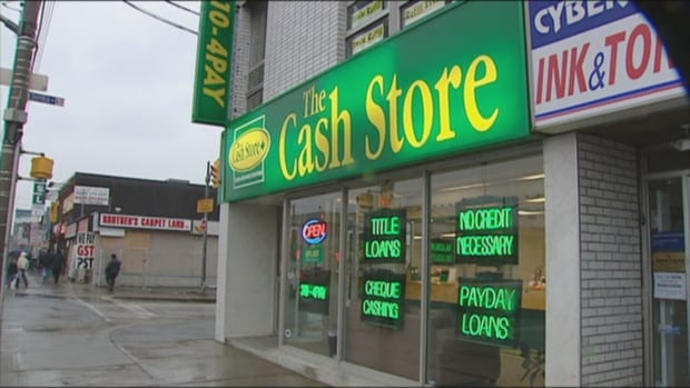 The Cash Store, Toronto, payday
