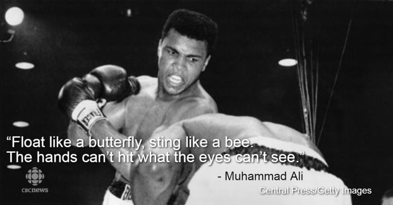 Muhammad Alis Greatest Quotes Reveal Brilliant Character Cbc Sports