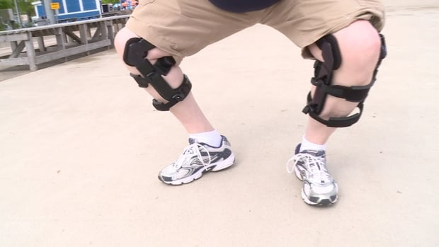 Bill Horne LevitationTM Knee Brace
