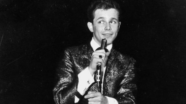 Former Canadian teen idol Bobby Curtola, pictured here in 1964, has died at the age of 73.