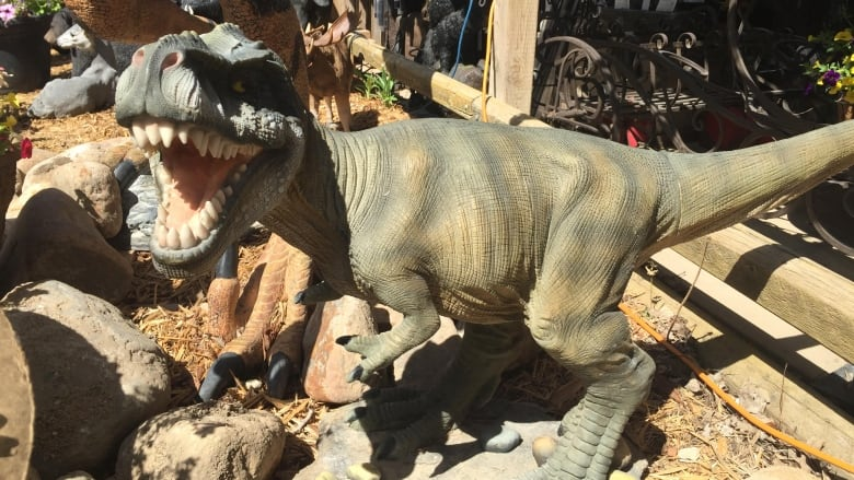 Police Plane Nabs Berry Barn Thieves Taking Off With Dinosaur Angel