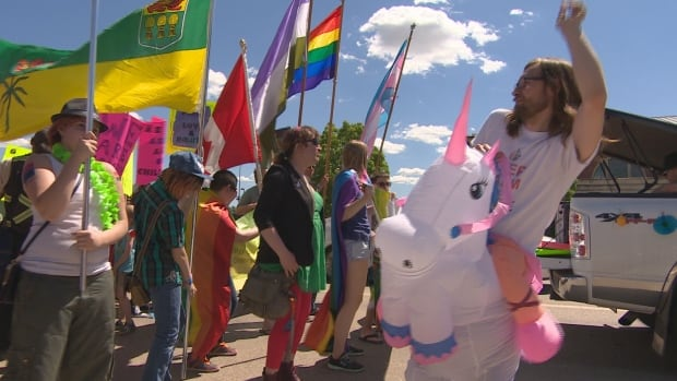 Joe Wickenhauser, a researcher into Saskatchewan's LGBT history, says Moose Jaw has a rich history of protest when it comes to diversity issues.