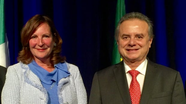 ATCO's Nancy Southern and Mexico's Energy Minister Pedro Joaquin Coldwell spoke in Calgary on Monday about the investment opportunities in the country.