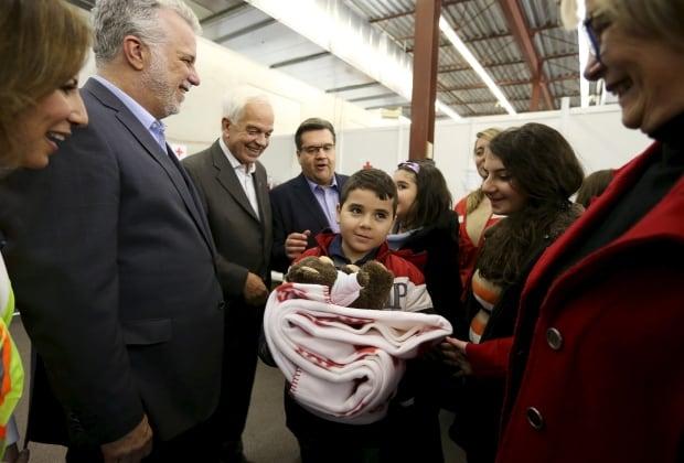 Syrian refugees Quebec