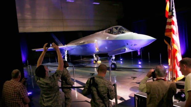 The first U.S. Air Force F-35A Lightning II delivered to Luke Air Force Base prior to an unveiling celebration taking place, Friday, March 14, 2014, in Glendale, Ariz.
