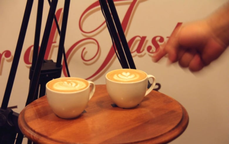 Latte love: Hearts feature big at Latte Art Showdown | CBC News