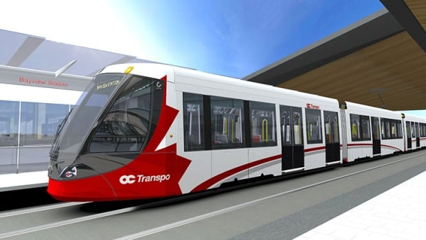 Ottawa's Confederation Line is set to open in 2018. It's unclear whether bicycles will be allowed on the trains during peak commuting times.