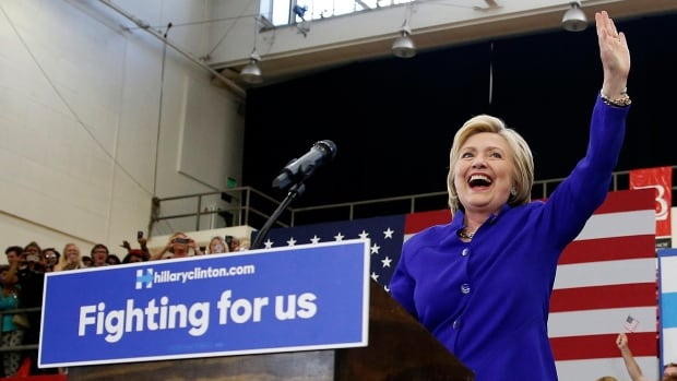 Eight years after conceding she was unable to 'shatter that highest, hardest glass ceiling,' Hillary Clinton has emerged as the presumptive Democratic presidential nominee.