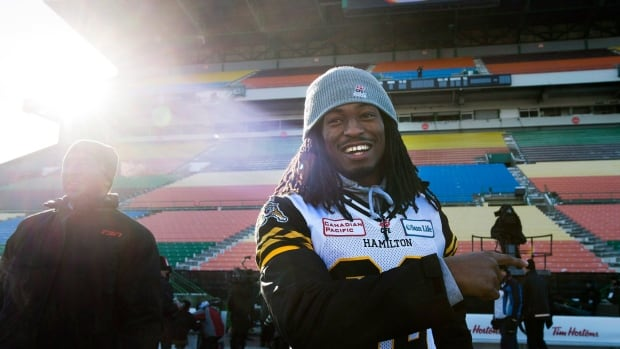 The Be More Than a Bystander campaign will feature Tiger-Cats defensive back Courtney Stephen, as well as Justin Vaughn, Terrell Davis and former Ticat Mike Morreale.