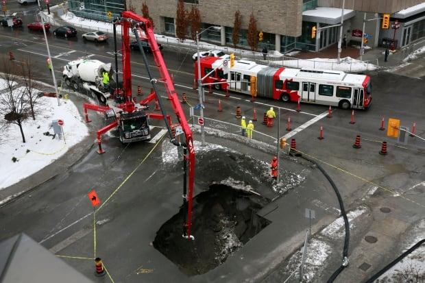Ottawa 2014 sinkhole in 2014