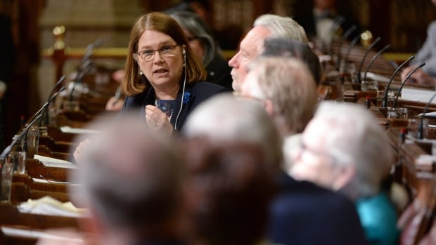 Health Minister Jane Philpott testifies about the federal government's controversial bill on assisted dying before the Senate on June 1. The Senate sent the Liberals' bill back to the House with seven amendments.