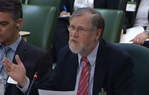 Dennis Howlett at committee