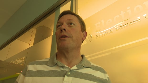 Paul Alan, communications director, Elections PEI