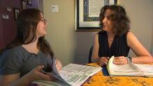 Jessica, Andrea, book therapy
