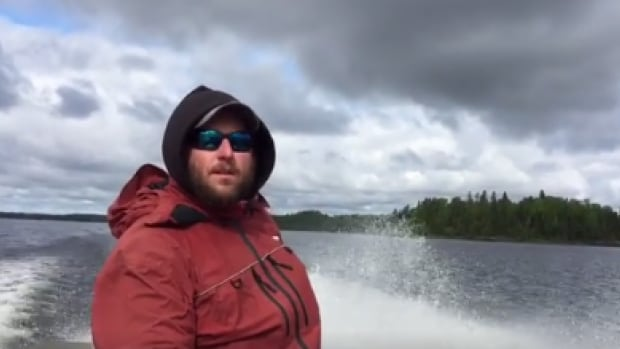 """Ben Beattie feels like as a guide in north western Ontario he is """"truly blessed."""""""