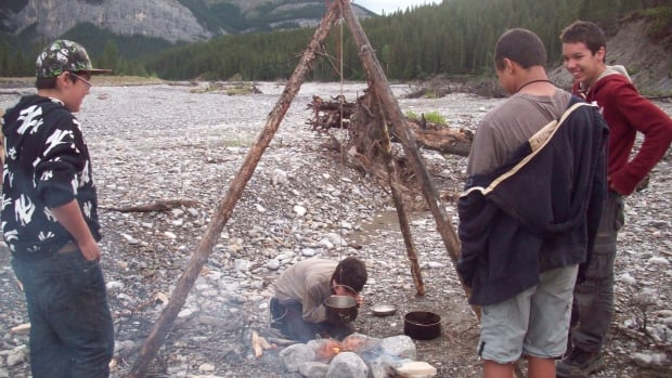 Ghost River Rediscovery in Calgary, Alta. offers lessons in Aboriginal lifestyle and survival skills throughout the months of July and August.