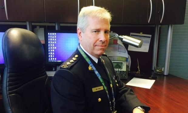 RCMP Chief Supt. Jeff Adam