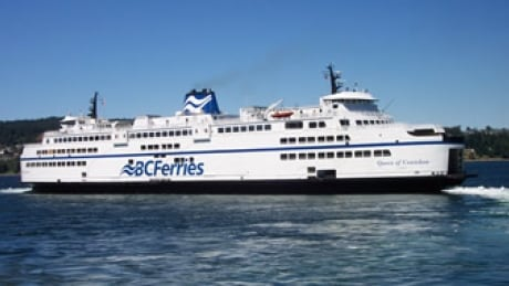 BC Ferries crew rescues man overboard