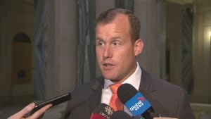 Opp. leader Trent Wotherspoon