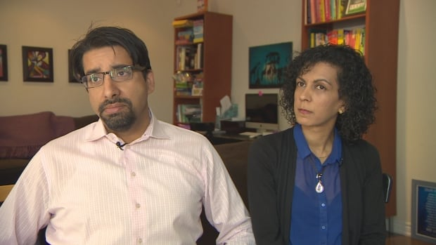 """Sulemaan Ahmed, left, and Khadija Cajee, right, say they are """"extremely relieved"""" that the government is working to end no-fly mix-ups."""