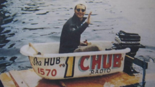 "The CHUB Radio tub, which entered the very first bathtub race between Nanaimo and Vancouver in 1967, is an example of the ""backyard specials"" that used to race in the competition."