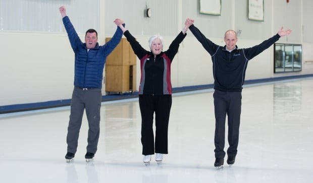 Pat Noddin, Brian Orser, Kurt Browning