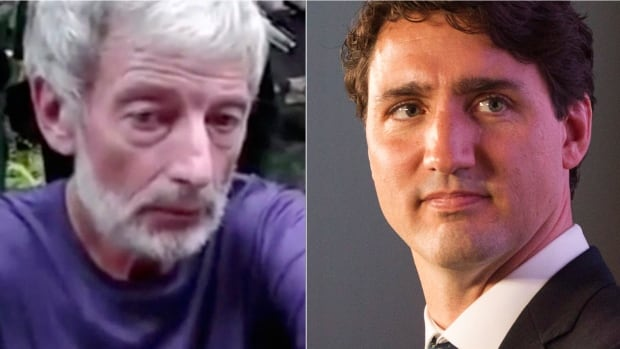 """Prime Minister Justin Trudeau, right, says Canada is committed to bringing those responsible for the murders of Canadians Robert Hall, left, and John Ridsdel to justice """"however long it takes."""""""