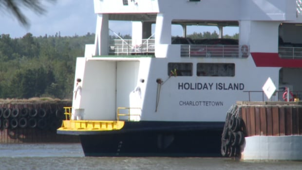 The MV Holiday Island was taken out of service last summer because of maintenance work.