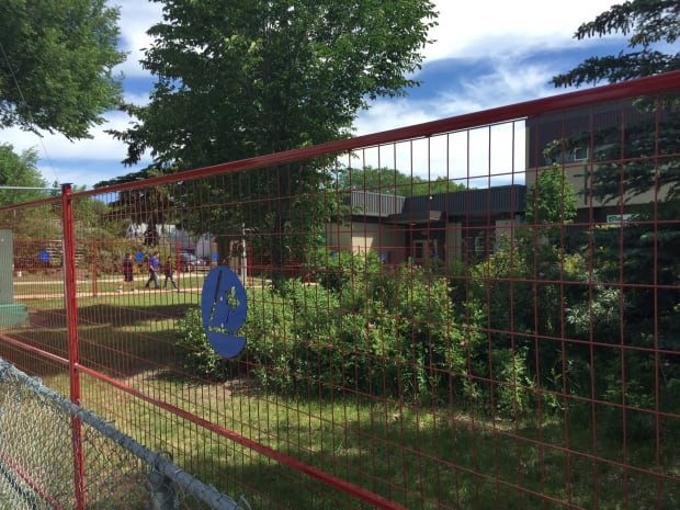 St. Frances School bulldozing front yard to make classroom space
