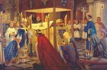 King Henry I burial