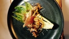 Grilled romaine Chef Anna Cote D is for Dinner lettuce challenge recipe