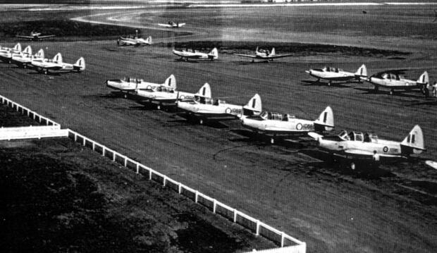 De Winton flight line
