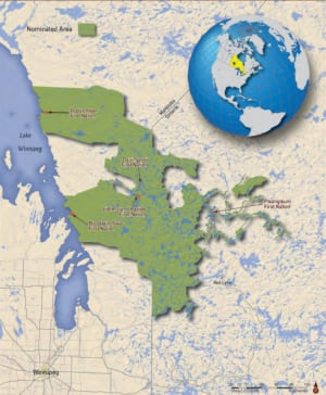 Pimachiowin Aki world heritage bid submission