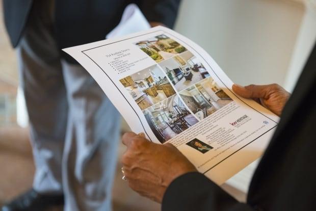 housing realtor flyer
